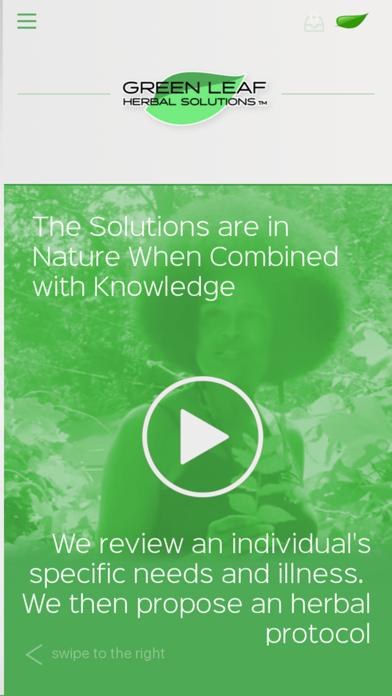 Green Leaf Herbal Solutions screenshot one