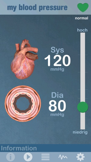 bodyxq my blood pressure Screenshot