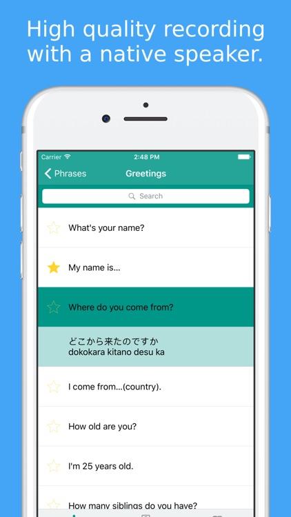 Simply Learn Japanese Kanji & Hiragana Phrasebook