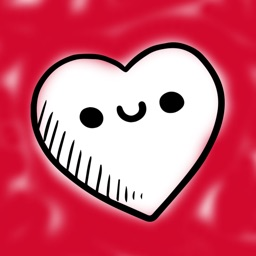 Love Stickers for iMessage - Hand Drawn Hearts