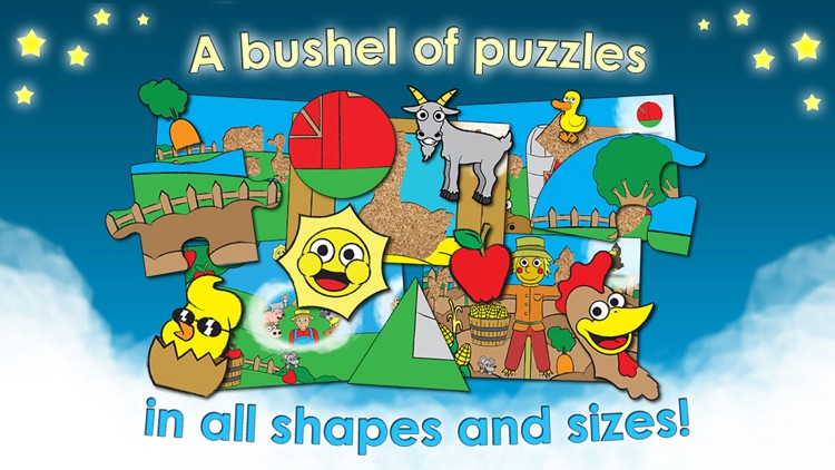 Farm Games Animal Puzzles for Kids Toddler Apps screenshot-0