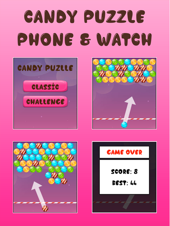 Candy Puzzle (Watch & Phone) screenshot 5