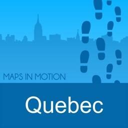 Quebec City on Foot : Offline Map