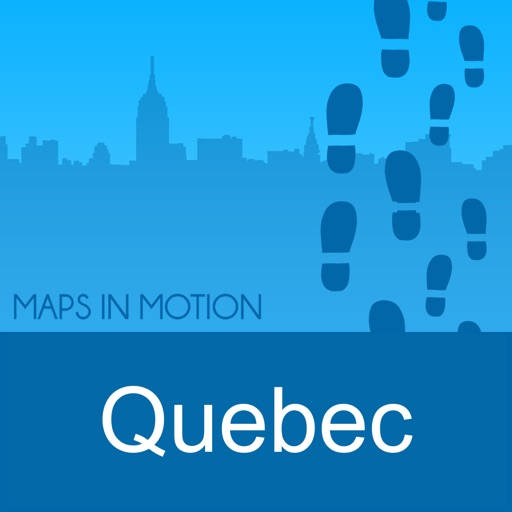 Quebec City on Foot : Offline Map