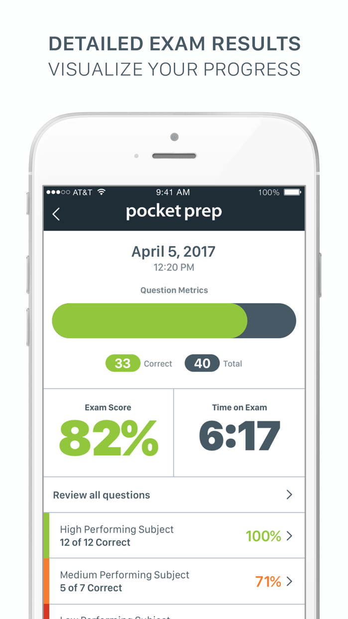 ATI TEAS Pocket Prep Screenshot