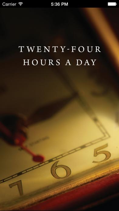 Twenty-Four Hours a Day Screenshot