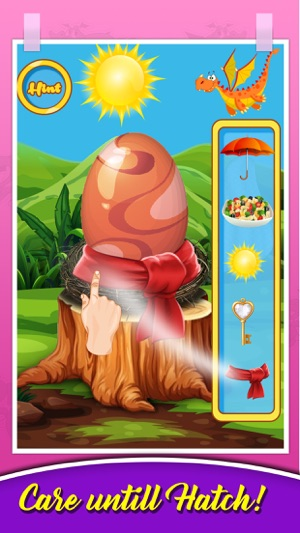 Dragon Pet Care & Dress up - Dragon Egg Hatching on the App