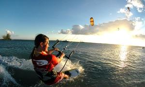 KiteBoarding - Surfing