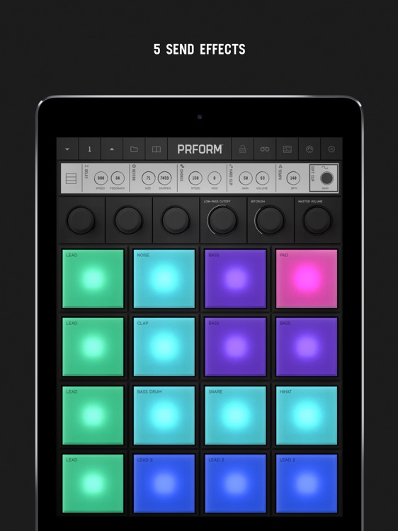 PRFORM – 9 Synths and 16 Pads screenshot-3