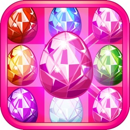 Jewel Pop Star Quest - Link & Crush Matching Game