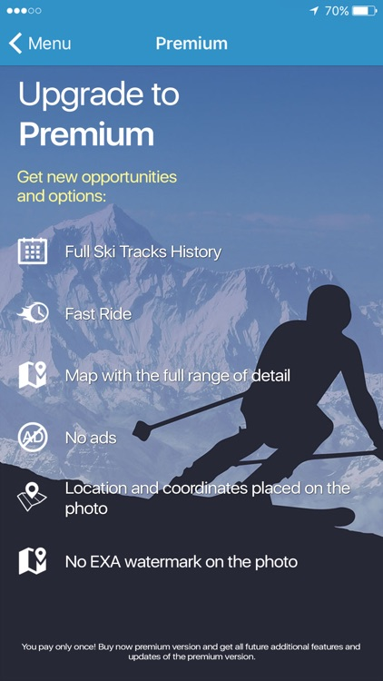 EXA Ski Tracker screenshot-1