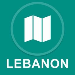 Lebanon : Offline GPS Navigation