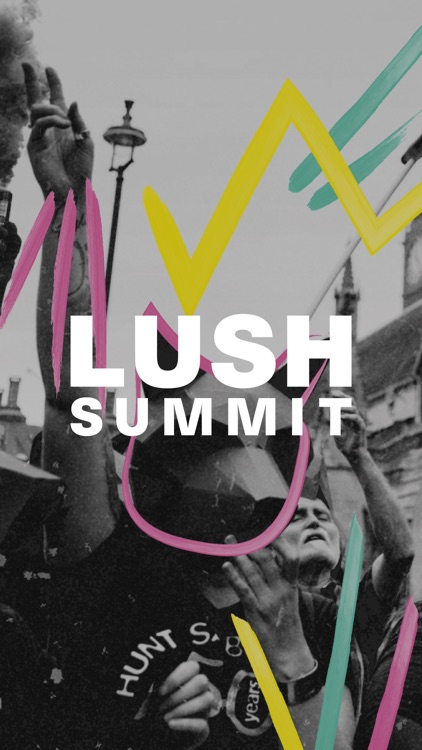 Lush Summit Sticker Pack