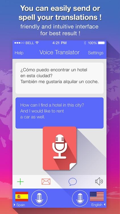 Voice Translate : translator screenshot-3