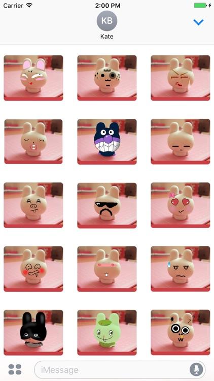 Porelain Rabbit stickers
