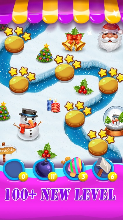 Easter Egg cookie - Bunny hunt candy game for kids screenshot-3
