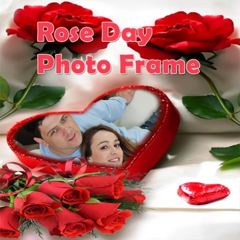 Rose Day Free Photo Frame Editor For Wishes