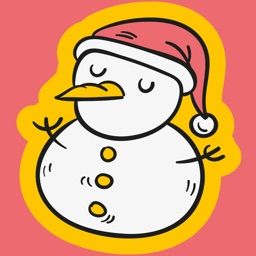 Christmas New Year Stickers
