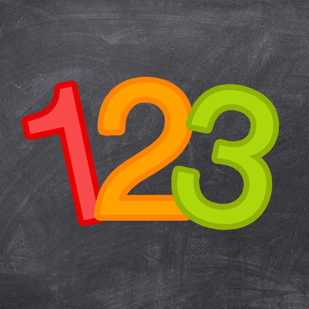 a spelling test on the app store 123 genius first numbers counting game for kids