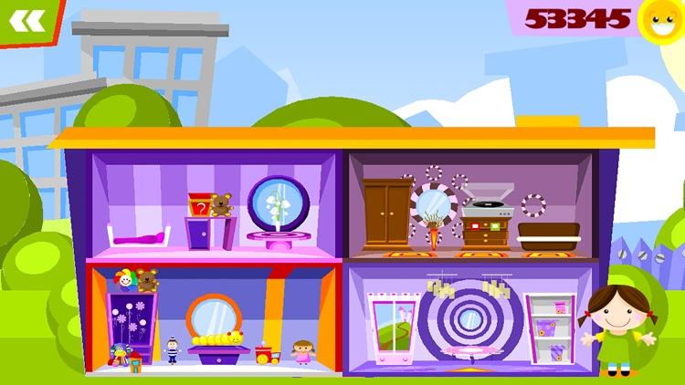 玩偶之家 - 裝飾遊戲對孩子 screenshot-4