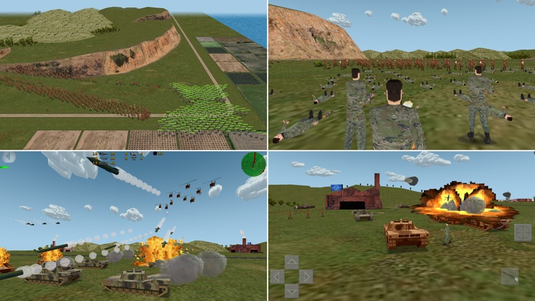 Tank Island 3D - Strategy game screenshot-2