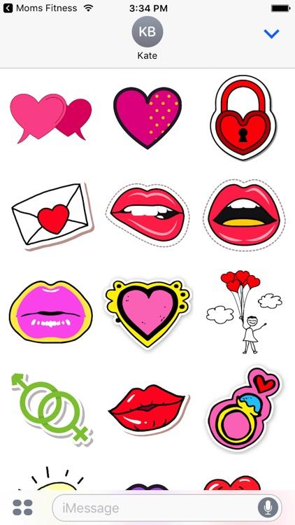 Cute - Valentine's Day Stickers screenshot-3