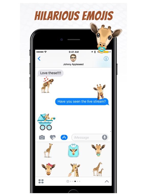 GiraffeMoji by Moji Stickers screenshot 8