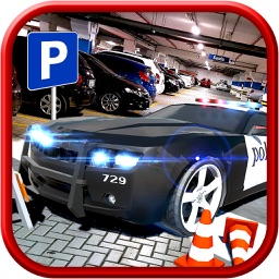 Multi-Storey Police Car Parking Driver Sim-ulator