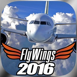 Flight Simulator FlyWings Online 2016 HD