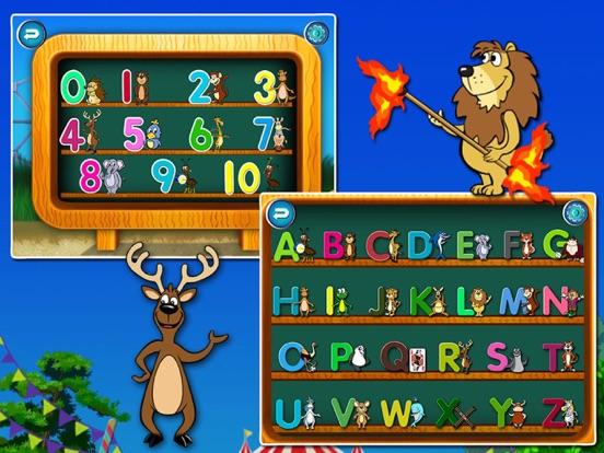 ABC Circus- Alphabet&Number Learning Games kidsのおすすめ画像2