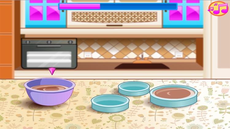 Wedding Chocolate Cake Maker Games for kids