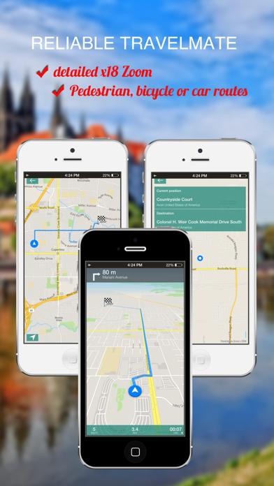 Quebec City, Canada : Offline GPS Navigation screenshot one