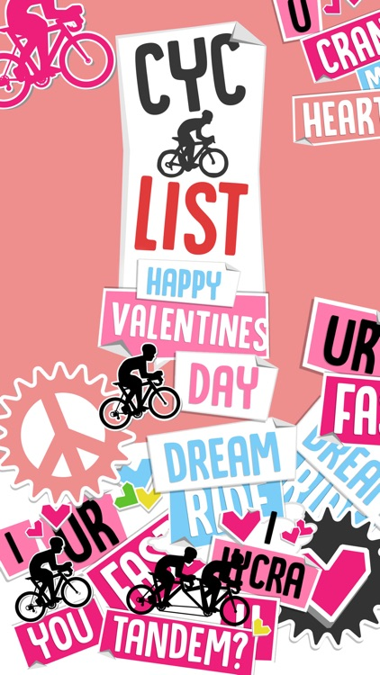 CycList Valentines screenshot-0