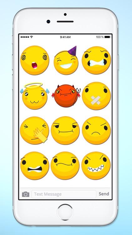 Cute Emoji Smile Emoticons Sticker Pack screenshot-4