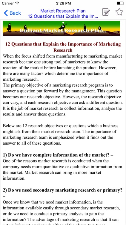 MRP  - Market Research Plan & Brilliant MRP screenshot-3