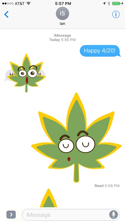 Potmoji Cannabis Emojis screenshot-3