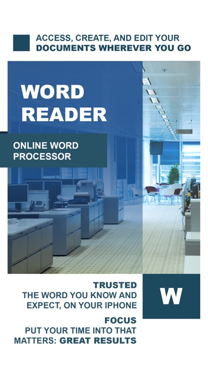 Quick Word Office - Word Processor Suite screenshot-0