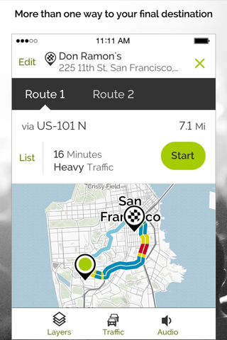 MapQuest: Navigation & Maps screenshot 3