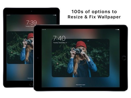Wallax - Wallpaper Fix Editor and Wallpaper Maker Screenshot