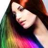 Hair Dye-Wig Color Changer,Splash Filters Effects - iPhoneアプリ