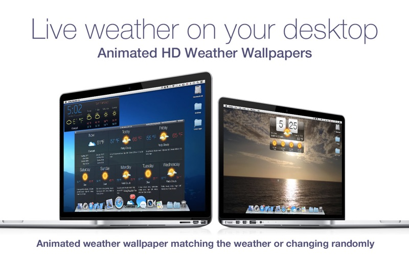 Living Weather & Wallpapers HD på PC