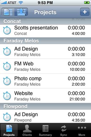 Screenshot of InerTrak