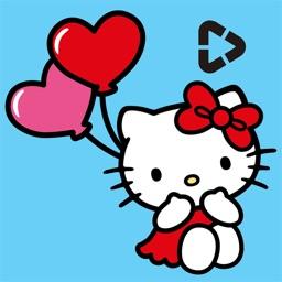 Hello Kitty StoryGIF: Valentines GIF & Story Maker