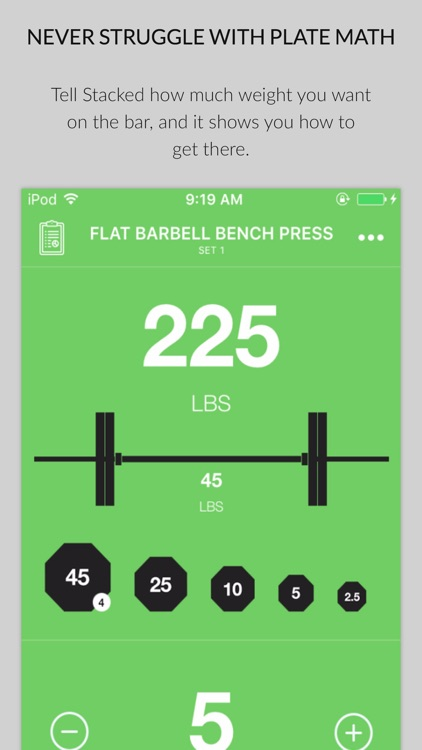 Stacked - Workout Tracker for screenshot-4