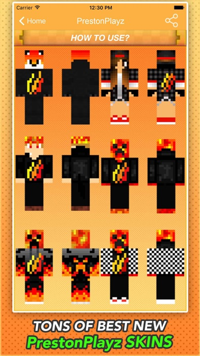 Best PrestonPlayz Skins For MInecraft PE PC IOS App Download - Skin para minecraft pe de dragon ball z