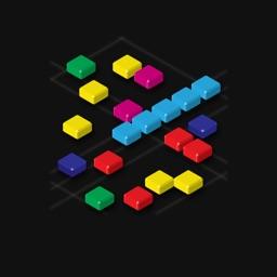 5 in Line : addictive color lines logic puzzle