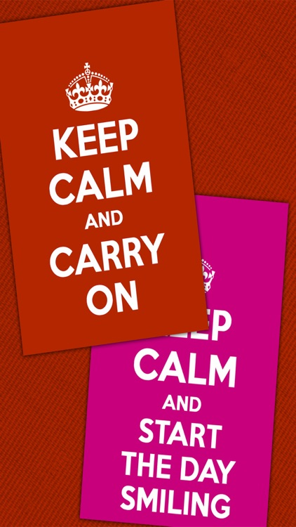 Keep Calm poster generator - make your own memes