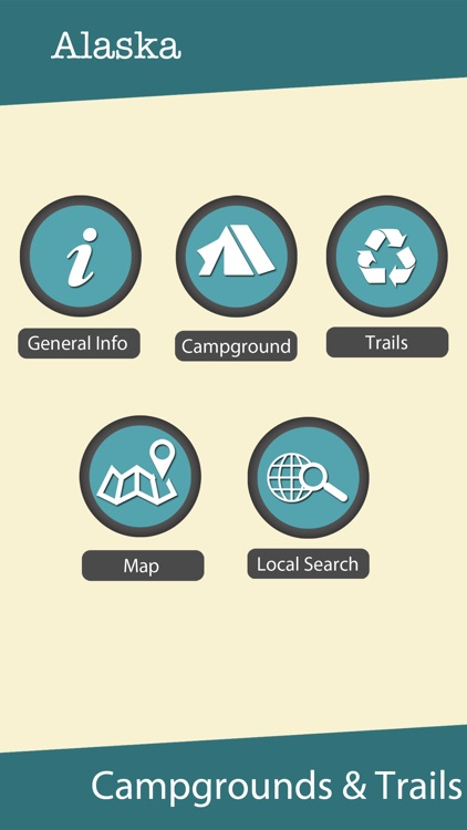 Alaska State Campgrounds & Hiking Trails screenshot-0