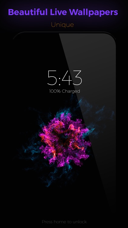 Ink - Live Wallpapers For iPhone 6s & 6s Plus screenshot-0
