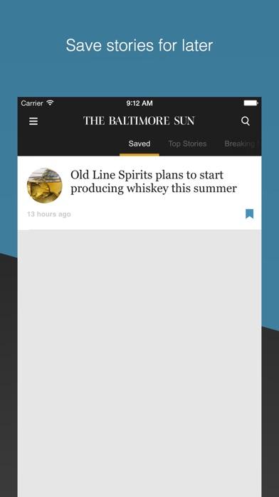 The Baltimore Sun app image